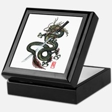 Dragon Katana Keepsake Box