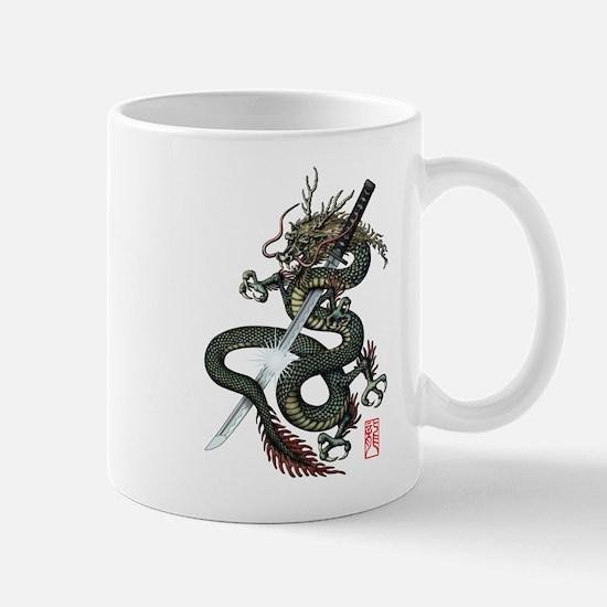 Dragon Katana Mug