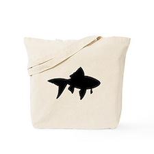 Goldfish Silhouette Tote Bag