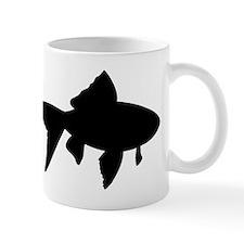Goldfish Silhouette Mugs