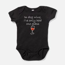In Dog Wine Baby Bodysuit