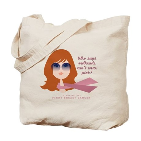 Breast Cancer - Redheads Tote Bag