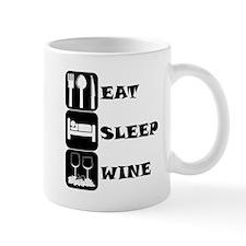 Eat Sleep Wine Mugs