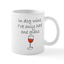 In Dog Wine Mugs