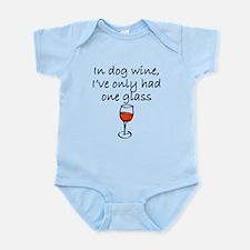 In Dog Wine Body Suit