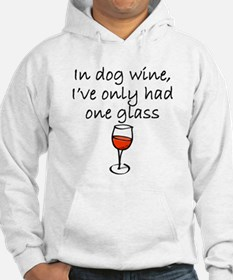 In Dog Wine Jumper Hoody