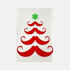 Merry Mustache! Red Magnets