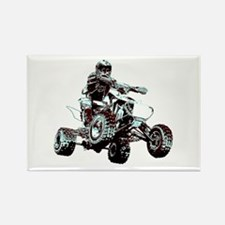ATV Racing Rectangle Magnet