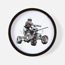 ATV Racing Wall Clock