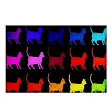 Rainbow Of Cats Postcards (Package of 8)