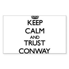 Keep calm and Trust Conway Decal