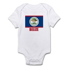 Belize Flag Infant Bodysuit