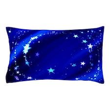 Blue Starry Sky Pillow Case