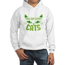 This guy loves CATS Jumper Hoodie