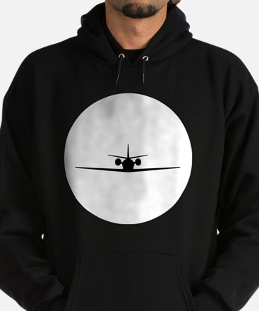 Cessna Citation Excel (front) Hoodie (dark)