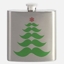 Merry Mustache! Green Flask