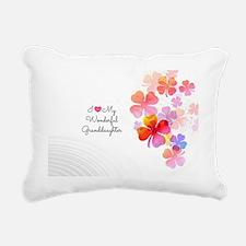 I Love My Wonderful Gran Rectangular Canvas Pillow