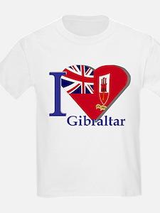 I love Gibraltar T-Shirt