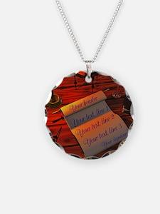 Personalizable handwritten l Necklace