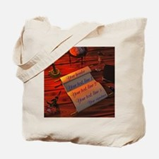 Personalizable handwritten letter Tote Bag