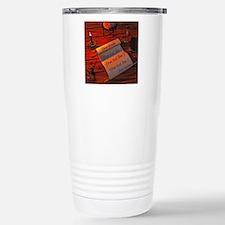 Personalizable handwrit Travel Mug