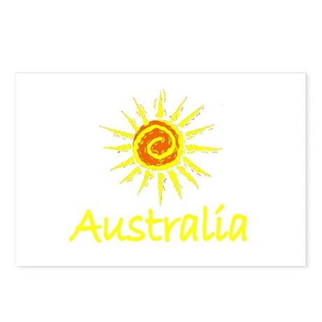 Australia Postcards (Package of 8)
