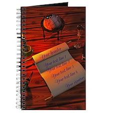 Personalizable handwritten letter Journal