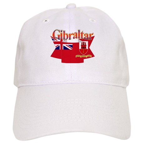 Gibraltar flag ribbon Cap
