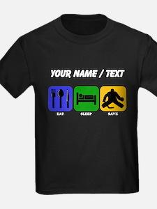 Custom Eat Sleep Save T-Shirt