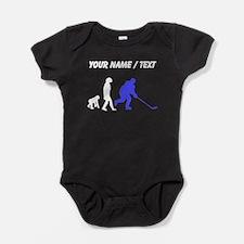 Custom Hockey Evolution Baby Bodysuit