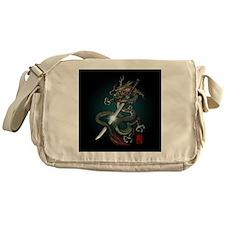 Dragon Katana01 Messenger Bag