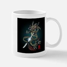Dragon Katana01 Mug