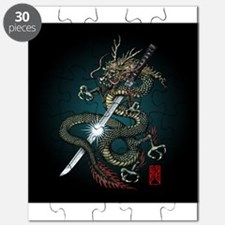 Dragon Katana01 Puzzle