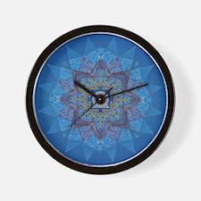 Kali Yantra-Mandala Wall Clock