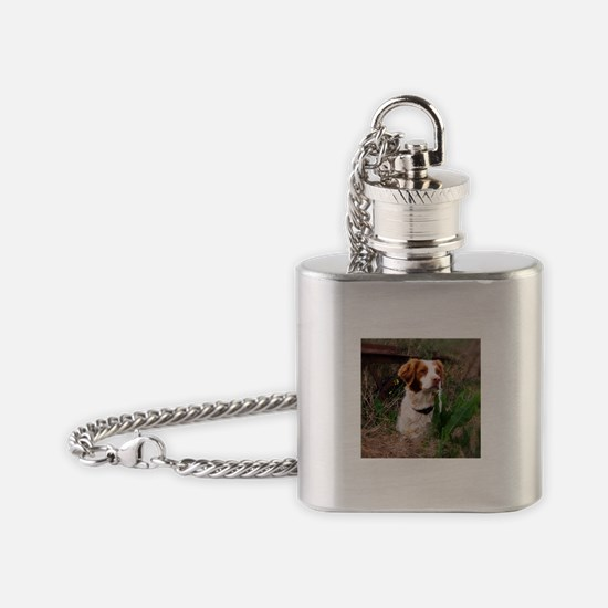 at one with nature.jpg Flask Necklace