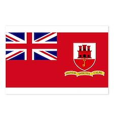 Gibraltar civil ensign Postcards (Package of 8)