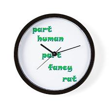 Fancy Rat Wall Clock