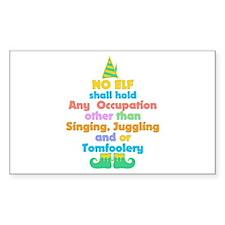 Elf Occupations Decal