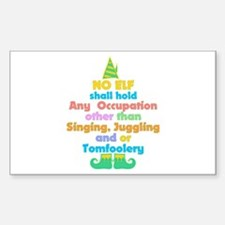 Elf Occupations Decal