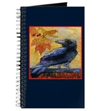 Tuscan Moon and Crow Raven Journal