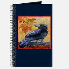 Tuscan Moon and Crow Raven Journal