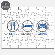 Eat Sleep Game Puzzle