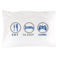 Eat Sleep Game Pillow Case