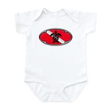 Framed Turtle Infant Bodysuit