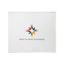 Amici Logo Throw Blanket