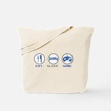 Eat Sleep Game Tote Bag