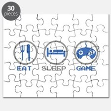 Eat Sleep Game Puzzle