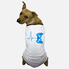 Gamer Heart Beat Dog T-Shirt