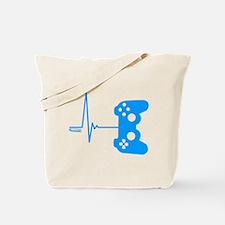 Gamer Heart Beat Tote Bag