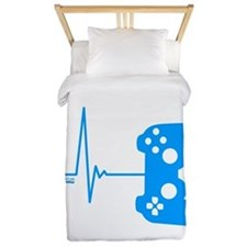 Gamer Heart Beat Twin Duvet